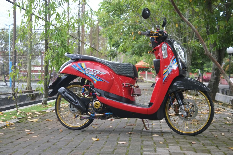 Modifikasi Honda Scoopy Part Import Juragan Seafood Otoinfo Id