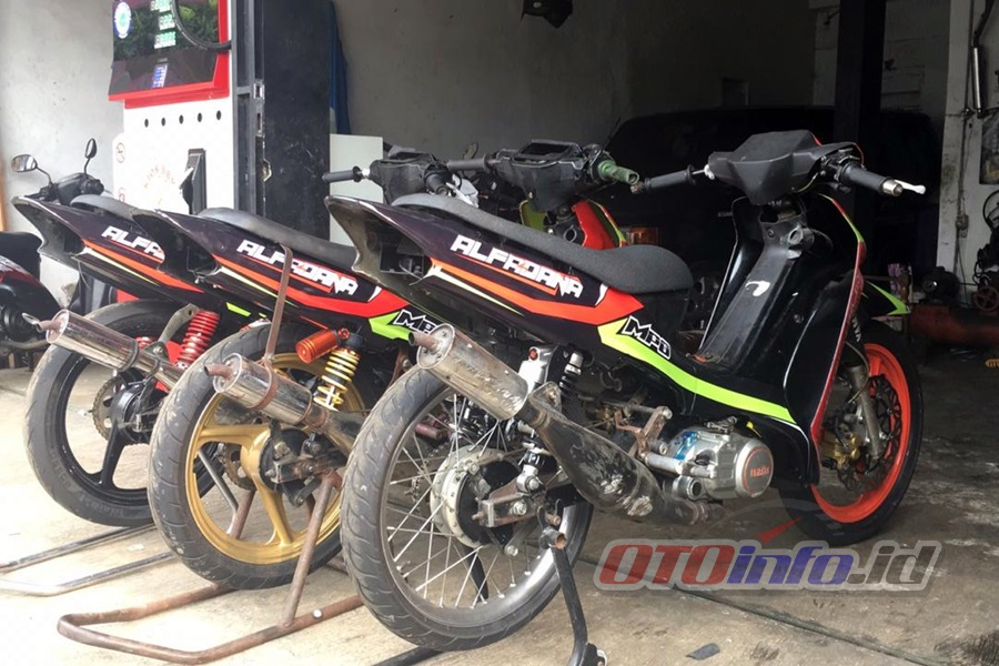 Yamaha F1ZR 116cc MPO Wonosobo, Andalkan Risetan Lama Terbukti Masih Kencang   Otoinfo.id